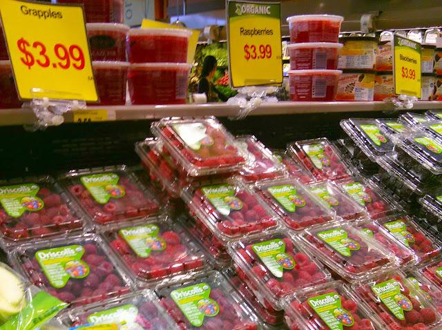 Marianos berries raspberries