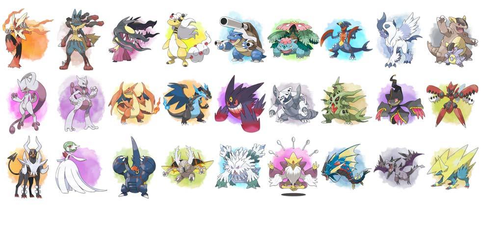 World of pokemons world of pokemons - Pokemon xy mega evolution chart ...
