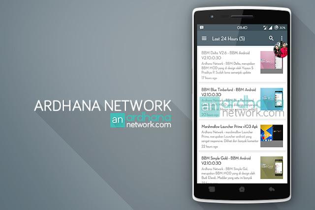 Ardhana Network Aplikasi