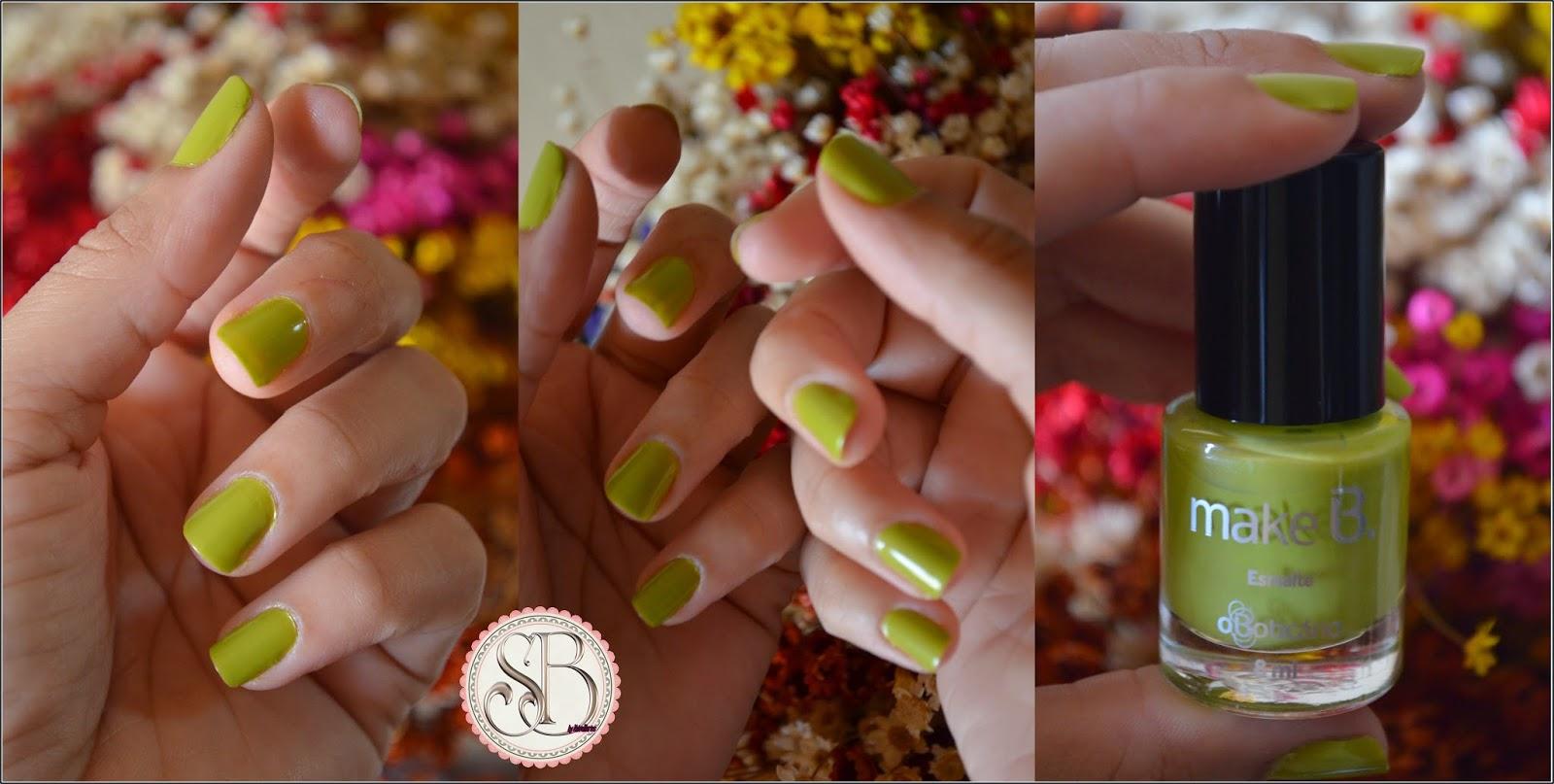 Somando Beleza,Esmalte exotic green make B OBoticario, Linda Linda, Dalí