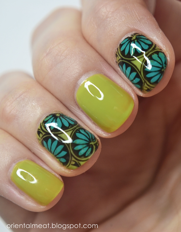 Barry M-Lime Green