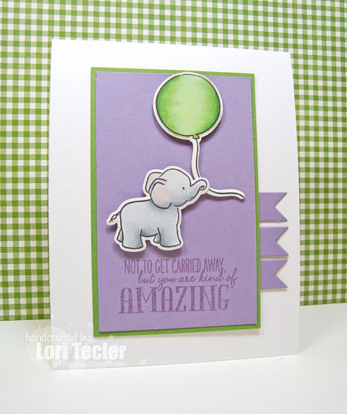 Not to Get Carried Away card-designed by Lori Tecler/Inking Aloud-stamps from WPlus9