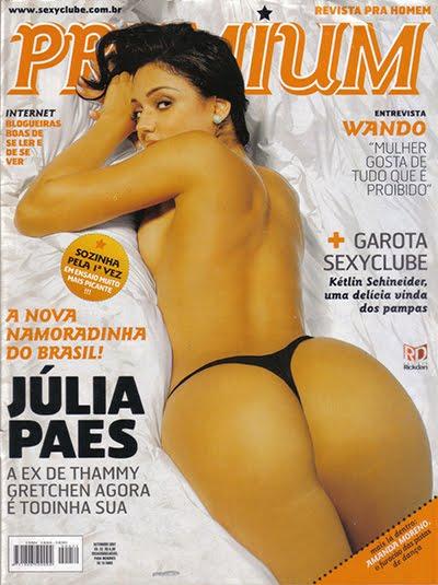 Júlia Paes pelada