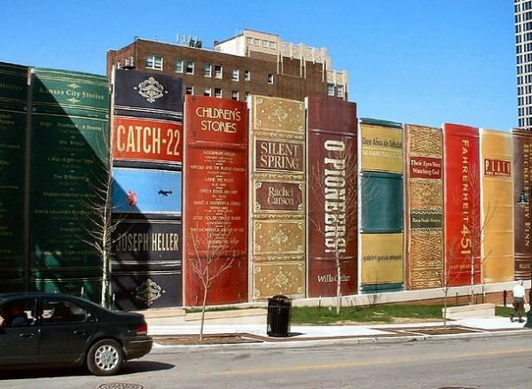 Bookshelves Inspired Parking Garage [Kansas City, USA]