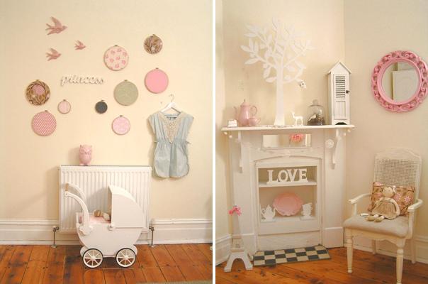 Pink Little Girls Bedroom Ideas