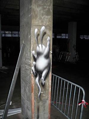 Bunny, Character, Art, 3d, Urban