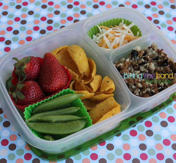 easylunchboxes bento work school dip scoops vegetarian lunch easy simple quick ideas