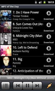 screenshots Winamp Untuk Android 3
