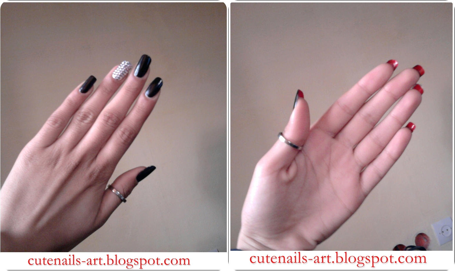 Cutenails art fashion nails louboutin inspired nail art cutenails art prinsesfo Choice Image
