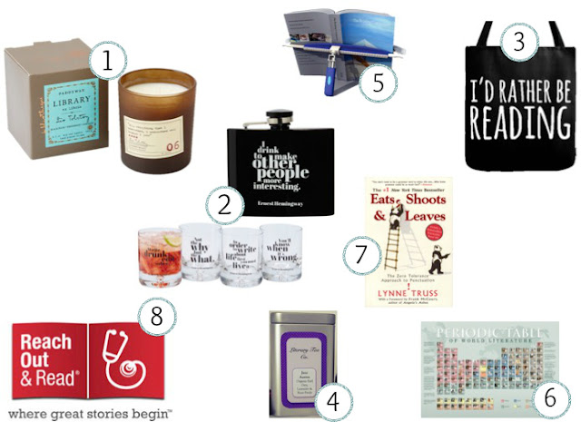 Holiday Gift Guide for Booklovers
