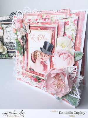 Mon Amour by Graphic 45 shabby chic cards at ScrapbookMaven.com