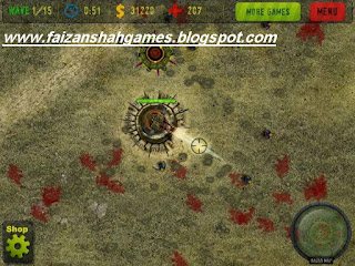 Anti zombie defense game online