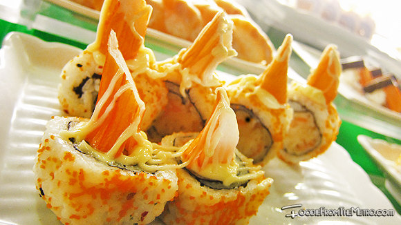 Foodie from the Metro - DADS Saisaki Kamayan Sushi