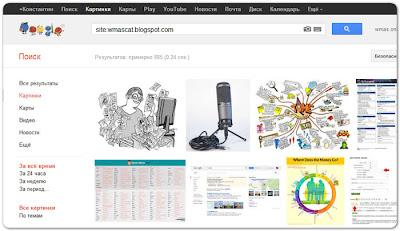поиск картинок сайта в Google