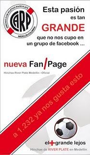 Hinchas River Plate Medellin - Oficial