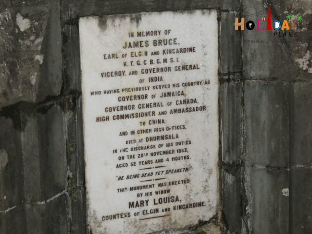 In the memory of James Bruce