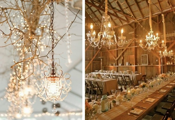 Chandeliers - Creative Lighting Ideas for Your Wedding Reception