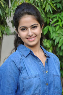 Acress Avika Gor Pictures in Pink Tight Jeans at Uyyala Jampala Movie Press Meet 0011.jpg