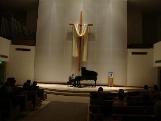 Maciej Grzybowski performs at First Presbyterian Church, Maj 2012