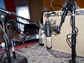 Josh Mallit Capricorn Studios Mic Shootout Neve 33145 Chandler Limited Germanium Cascade VINJET VIN JET Shure SM57 57 Beta Neve AKG 414 c414 c414c 414c C12 Capsule VIN-JET Ribbon microphone dynamic condenser microphone fender 65 vibrolux digidesign san diego
