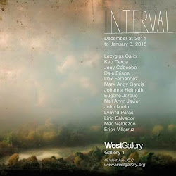 Interval at the West Gallery, opens December 3, 2014, 6pm