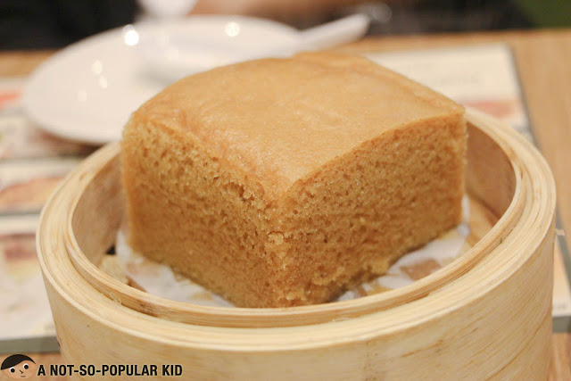 Steamed Egg Cake of Tim Ho Wan