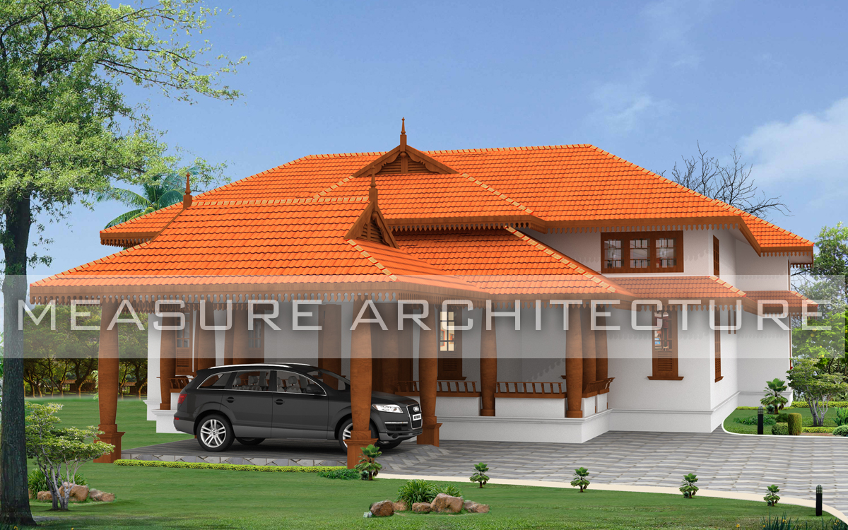 Measurearchitecture kerala traditional homes for Tradition home