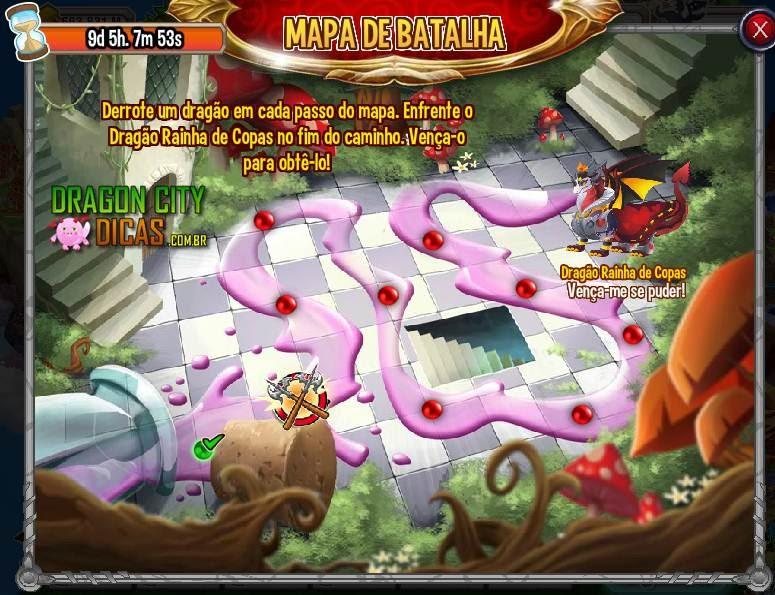 Ilha das Maravilhas - Mapa de Batalha