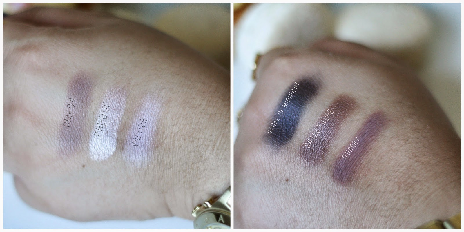 Mac, Cinderella, Make Up, Mac Cosmetics, Swatches, Stoke of Midnight.