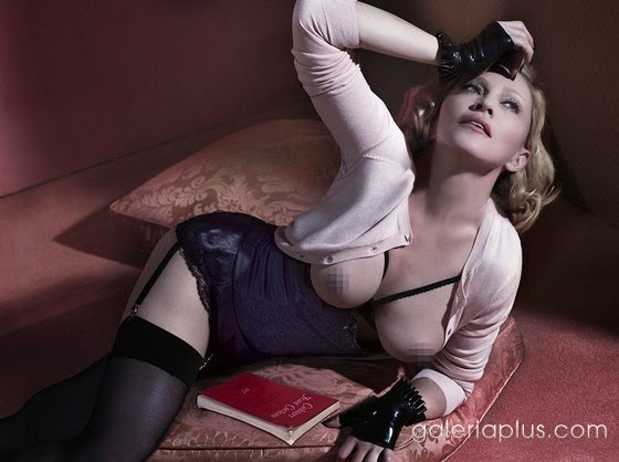 Fotos Madonna Desnuda (Topless) Revista Interview
