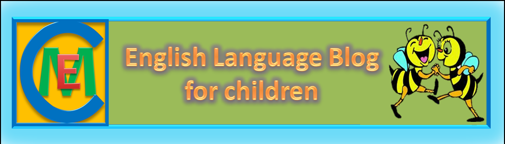 PRIMARY EDUCATION BLOG FOR LEARNING ENGLISH LANGUAGE