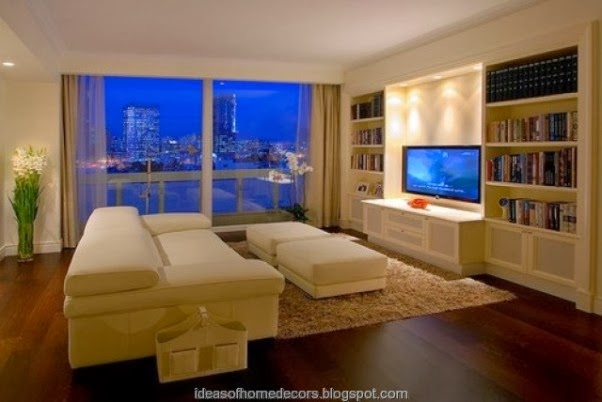 Designed By Yossi Fridman It Combines Wooden Wall Units Tv