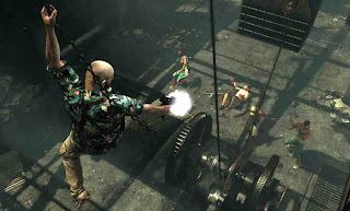Max Payne 3 pc screen