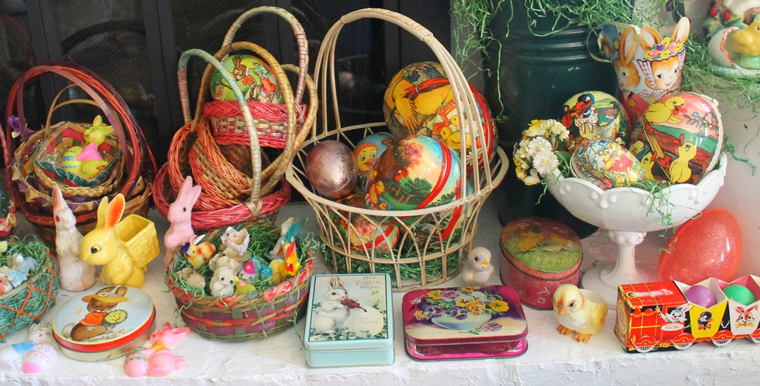 Antique Easter Decorations eBay 85