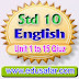 Standard 10 English Unit 1 to 15 Quiz