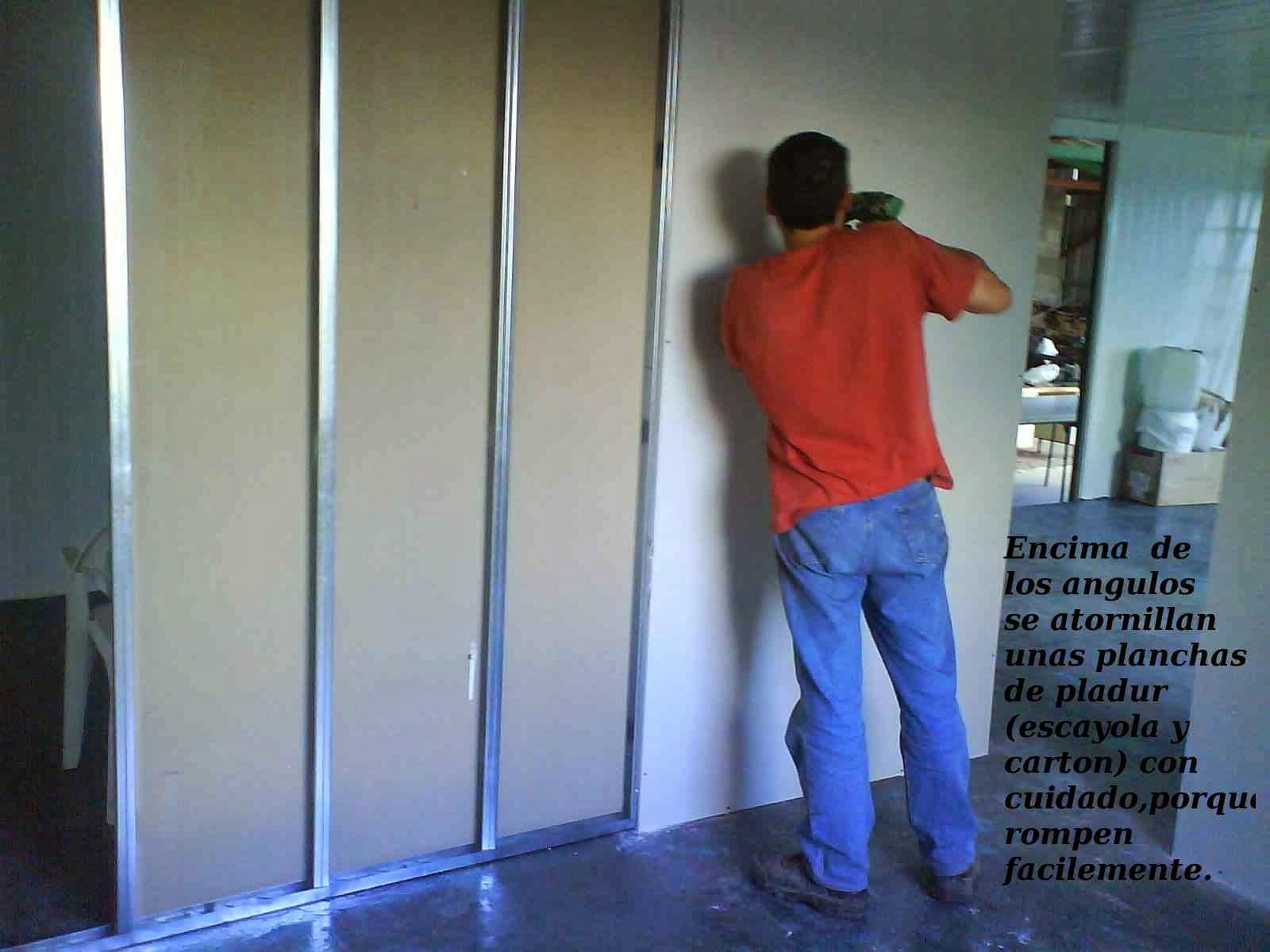 Como construir una casa aislada barata y energeticamente - Plancha de pladur ...