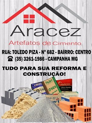 ARACEZ ARTEFATOS DE CIMENTO