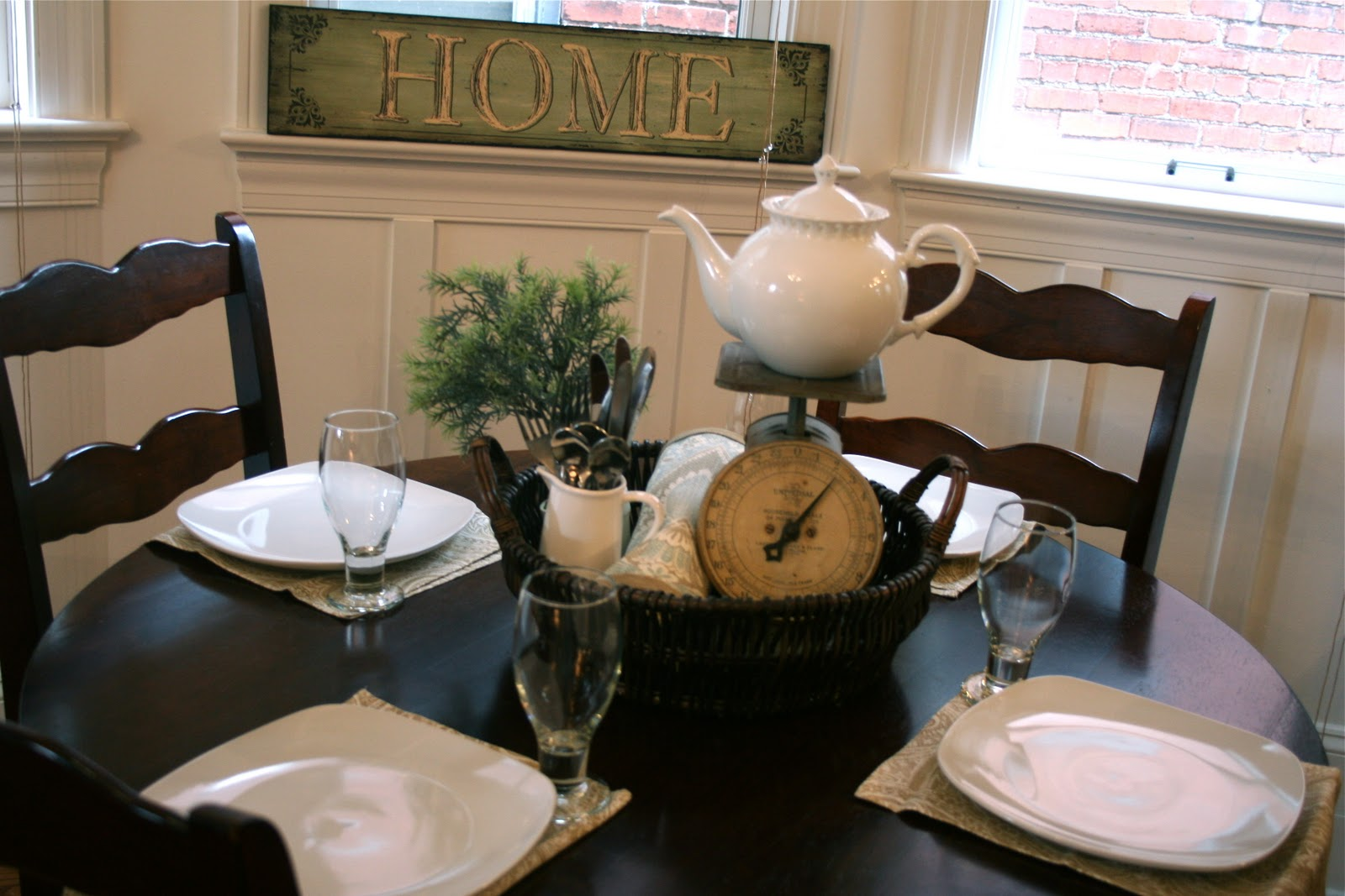 image breakfast nook september decorating. Image Breakfast Nook September Decorating .