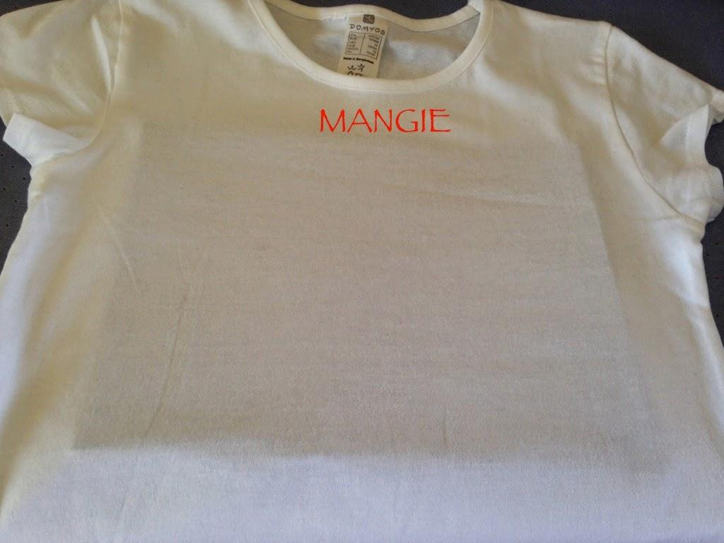 Camiseta preparada