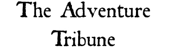 The Adventure Tribune
