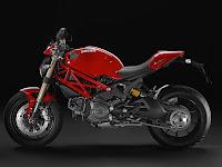 2013 Ducati Monster 1100 EVO Gambar Motor 3