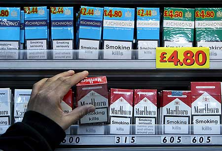 Cigarettes Gauloises price in nice London