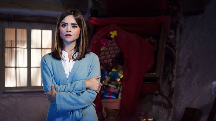 Doctor Who - Jenna Coleman and Nick Frost - Q&A