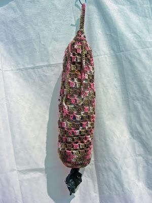 BAG CROCHET FREE HOLDER PATTERN PLASTIC - Online Crochet Patterns