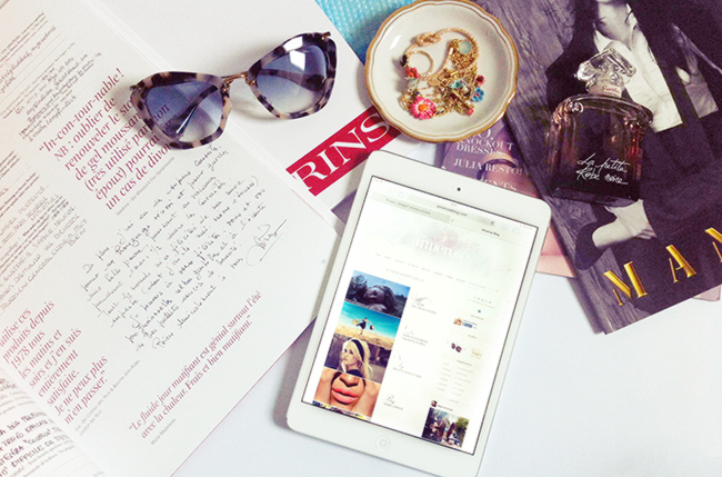 Advertise on fashion and beauty blog