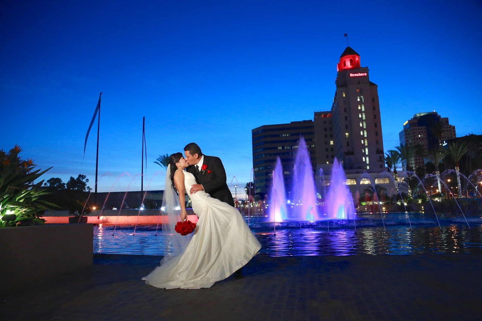 Enchanted Portraiture: Hector and Kelly at the Sky Room Long Beach
