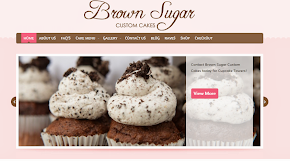 Brown Sugar Custom Cakes Website
