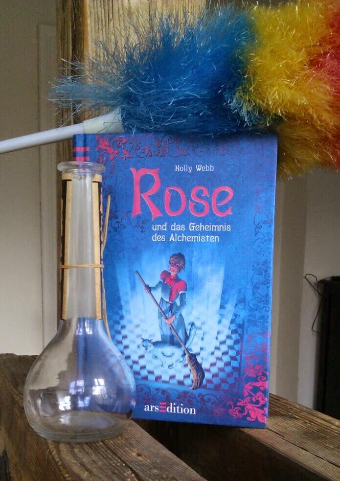 kinderbuch, Rose und das Geheimnis des Alchemisten von Holly Webb