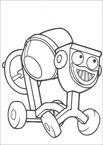 Bob the Builder Dizzy Coloring Pages