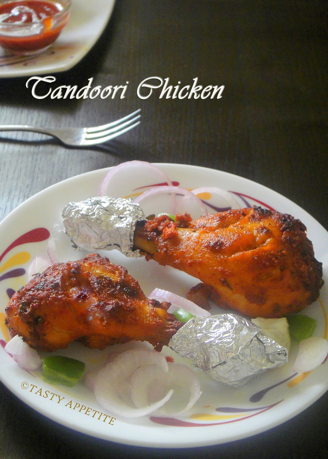 Grilled Tandoori Chicken / Restaurant Style Tandoori Chicken ( in oven ...